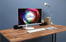 samsung 27 inch curved monitor. samsung to introduce ch711 quantum dot curved monitor at 27 and 32 inches inch