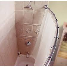 rounded shower curtain rod. Curved Shower Curtain Rod Inspiration For Small Stall 46 Rounded M