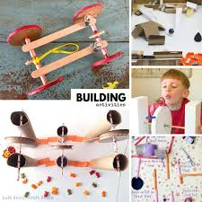 super fun building activities and ideas that the kids will love