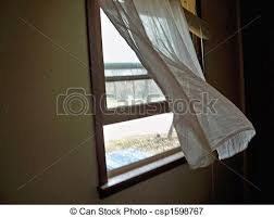window with curtains blowing. Perfect Curtains Breezy Spring Morning  Csp1598767 To Window With Curtains Blowing U