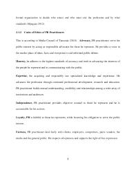 fariat juma s work on ethical dilemma facing public relations pract 18