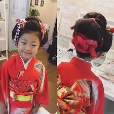 Moriyama Mamiさんのヘアスタイル 七五三7歳日本髪地 Tredina