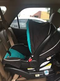 euc graco snugride connect 30 infant car seat in finch with extra base