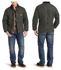 Carhartt Men's Arctic-Quilt Lined Traditional Coat - as low as $26 ... & Carhartt-Quilted-Arctic-Jacket Adamdwight.com