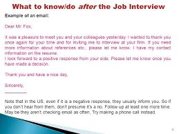 Job Interview Basic Vocabulary Ppt Download