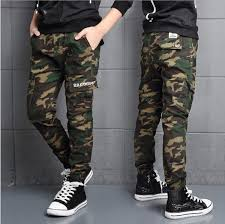 Character Pants Camouflage Baby Boys Pants 2018 Fashion Autumn Cotton Boys Trousers Print Full Kids Boy Pants Character Children Clothing 3p021 Toddler Boys White