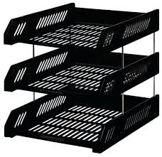 office desk tray. Large Size Of Office Desk Trays Metal Mesh 3 Tier Document Tray Magazine Frame Paper Files M