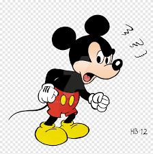 Chuột Mickey Chuột Minnie Vịt Donald Vịt, chuột mickey, bực bội, tác phẩm  nghệ thuật png