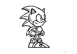 Sonic The Hedgehog Printable Coloring Pages Skanixinfo