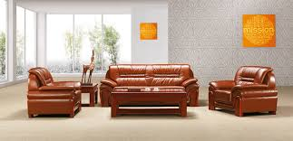 leather conference sofa