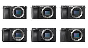 Sony Alpha Comparison Chart Sony A6x00 Series Comparison A6000 A6100 A6300 A6400