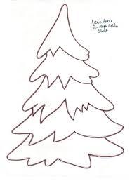 Tanne 7 Bastelvorlagen Weihnachten Schablonen