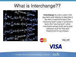 Visa Interchange Chart 2016 What Is Interchange Interchange Is A Term Used In The