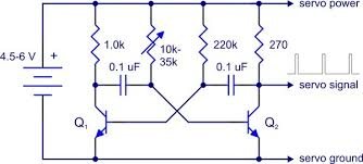 servo controller wiring diagram wiring diagram for you • pololu simple hardware approach to controlling a servo rh pololu com airplane servo wiring diagrams rc