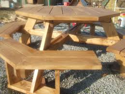 large size of large round picnic table plans round designs free round wooden picnic table plans