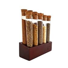 Kitchen Spice Rack Gute Kitchen 10 Test Tubes Free Standing Spice Rack Reviews