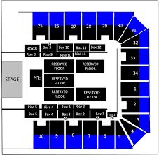 Berglund Center Seating Chart Cid Entertainment