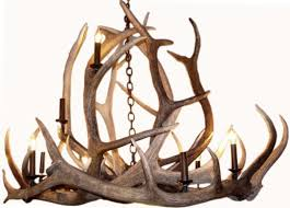 large rustic antler chandelier for the ralph lauren style