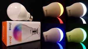 Review: Revogi Color-Changing Bluetooth LED Smart Bulb (60 watt ...