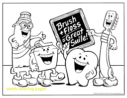teeth coloring pages with teeth coloring pages preschool many interesting cliparts