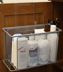 Under Kitchen Sink Organizing Over Door Basket Organizer Cabinet Under Sink Storage Kitchen