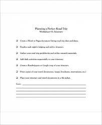 travel planner template 11 travel planner samples templates pdf