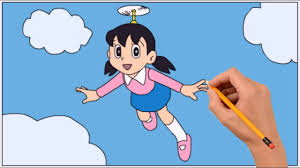 Discover new books on goodreads. How To Draw Nobita Flying With Propeller Coloring Book Page And Drawing Learn Colors For Kids Youtube