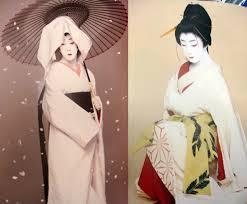crossdressing anese man wearing geisha costume or outfit tokyo kabuki plays anese theater