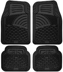 Amazoncom OxGord 4pc Set Tactical Heavy Duty Rubber Floor Mats  Black  Automotive Amazoncom