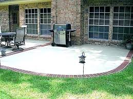 cement patio designs ideas innovative t55