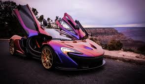 What It Was Like Driving My Dream Car, A Hyperblurple McLaren P1 ...