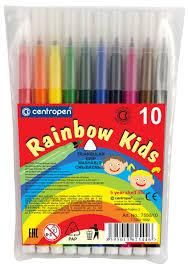 Набор <b>фломастеров Centropen Rainbow Kids</b>, 10 цветов