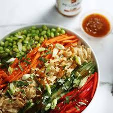 fresh asian sesame salad