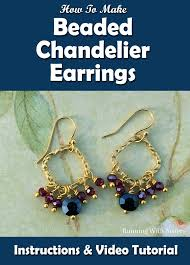 learn to make these pretty beaded chandelier earrings in this tutorial we ll