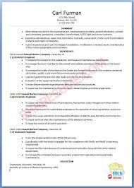 Sample Resume For Marine Engineer Fresh Graduate Perfect Resume