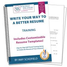 Resume Writing       Tips and Techniques   Schofield Strategies