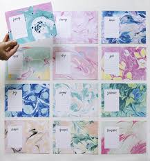 may designs marbled calendar oh so beautiful paper