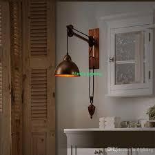 industrial lighting bathroom. Contemporary Industrial Bathroom Wall Lamps Vintage Industrial Lighting Coffee Shop Retro  Light Sconces Bar Rustic Spindle Pulley On Lighting Bathroom