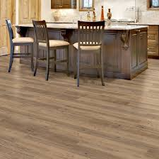 image of vinyl plank flooring that looks like hardwood kitchen