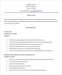 Templates For Resumes Word New High School Resume Template Word Examples Of Resumes