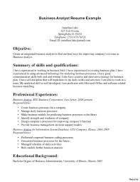 Unsolicited Resume Cover Letter Fascinating Functional Analyst Resume Also Entry Level Business 58
