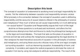 causation and responsibility an essay in law morals and m   causation and responsibility an essay in law morals and metaphysics michael s moore ebook online