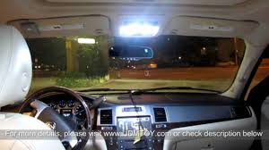 Cadillac Escalade Interior Lights Wont Turn Off Complete Led Interior Package For 2007 2012 Cadillac Escalade