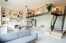 Old School Building Converted Into Modern Family Loft Apartment - Decorating loft apartments