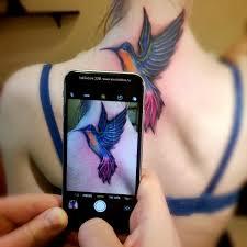 татуировка колибри татуировка колибри работа сделана по п Flickr