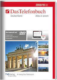 Das Telefonbuch. Deutschland Herbst/Winter 2018/19: TVG Verlag GmbH & Co.  KG: Amazon.de: Software
