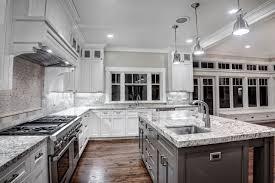 White Granite Kitchen Tops Kitchen Countertop Ideas With Dark Cabinets Kitchen Backsplash