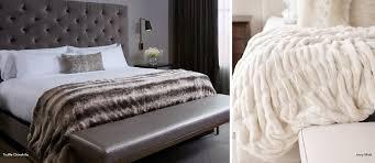custom faux fur bedding donna salyers
