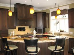 Kitchen Island Decorating Wonderful Circled Kitchen Island Decor In Contemporary Kitchen