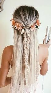 Easy Prom Hairstyles 12 Best Pretty Hair Hair Flowers Braids Hair Pinterest Pretty Hair